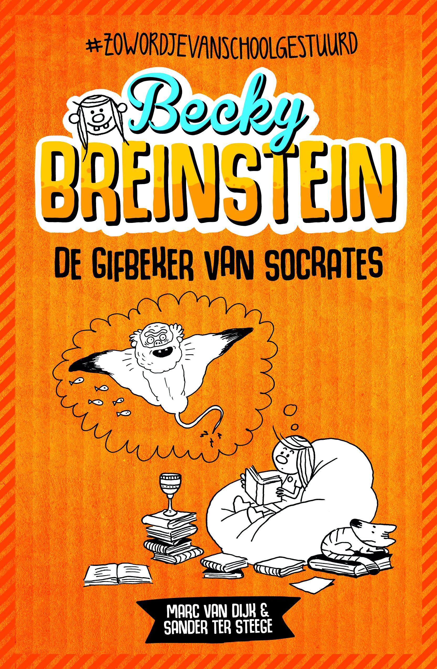 Omslag Becky Breinstein - 1 - De gifbeker van Socrates